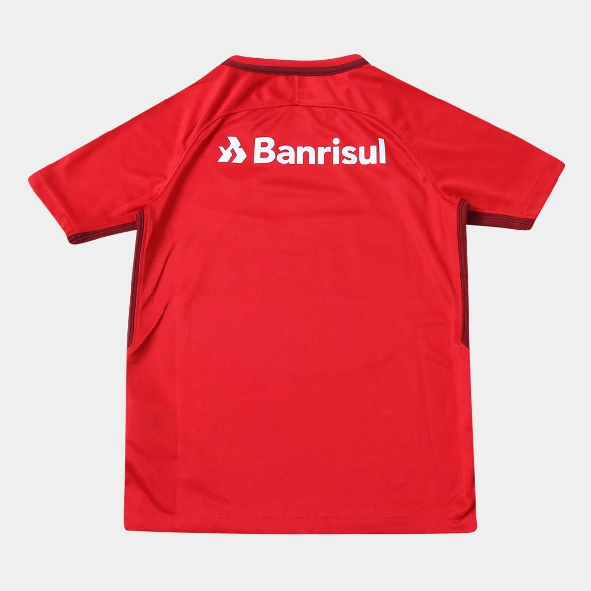 Camisa Internacional Juvenil I 17 18 S N Torcedor Nike