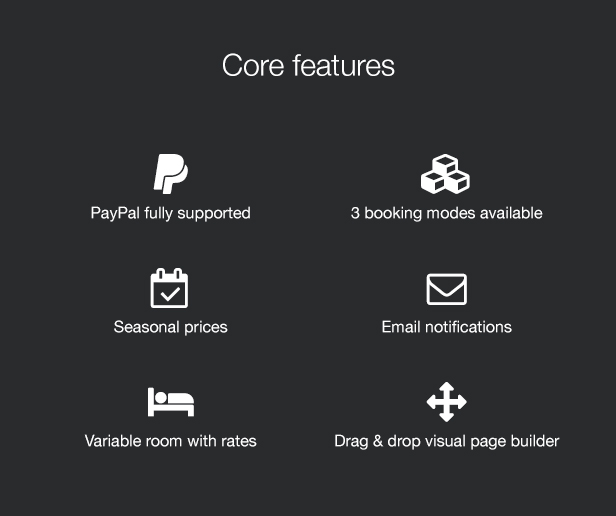 Morrison Hotel Core Features