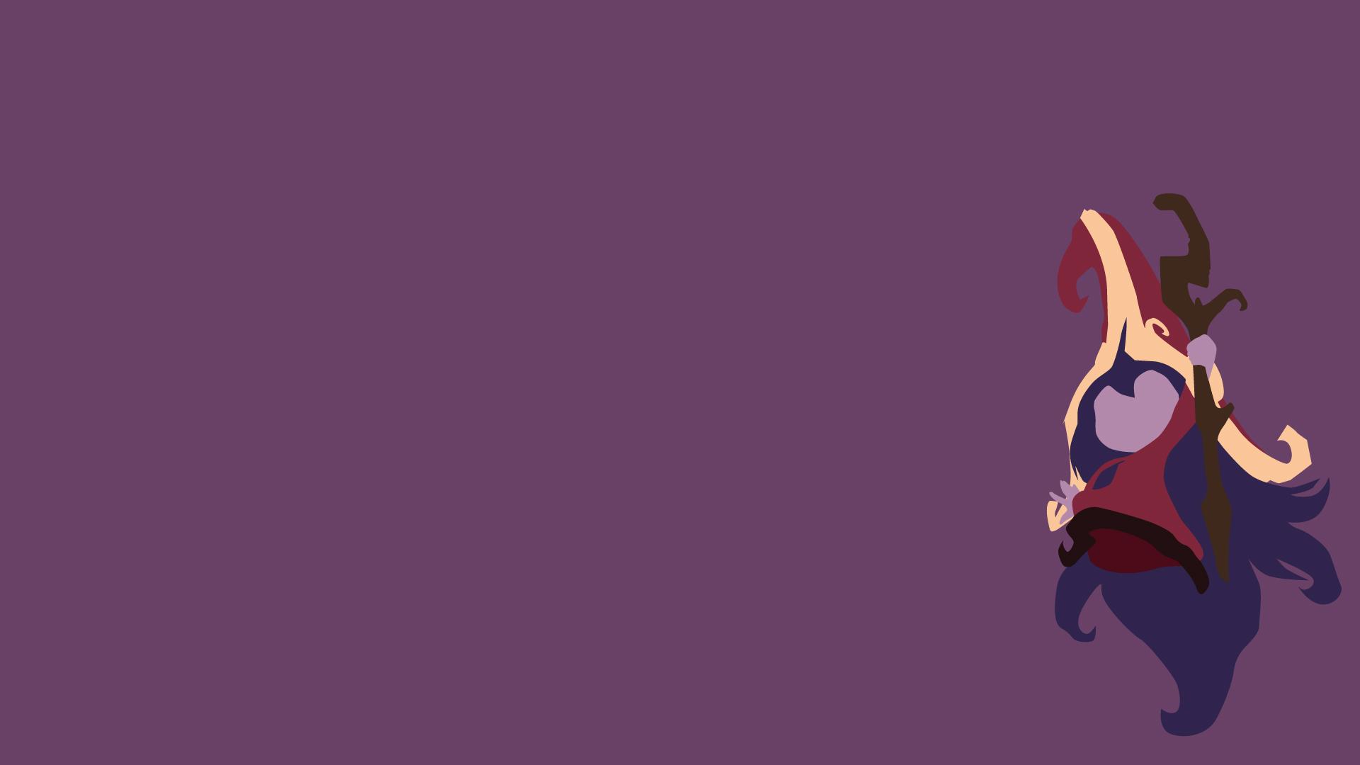 Lol Cute Riven Wallpaper Lulu Minimalistic Fan Art League Of Legends Wallpapers