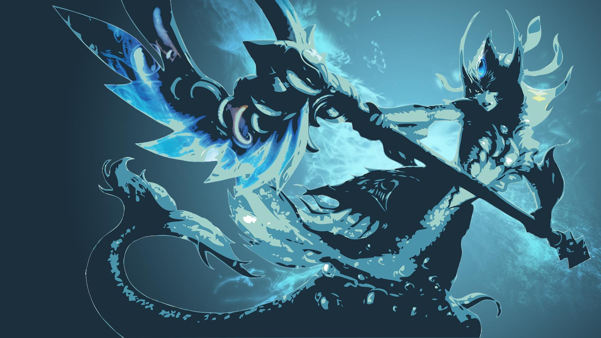 Lol Cute Riven Wallpaper Nami Classic Skin Minimalistic Fan Art League Of Legends