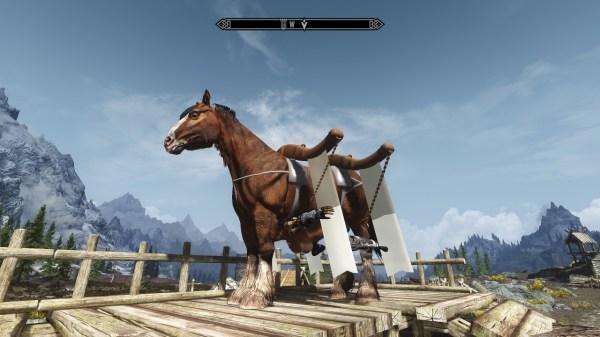 realistic horse mod skyrim se # 19