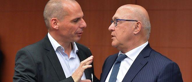 grece varoufakis et sapin reglent