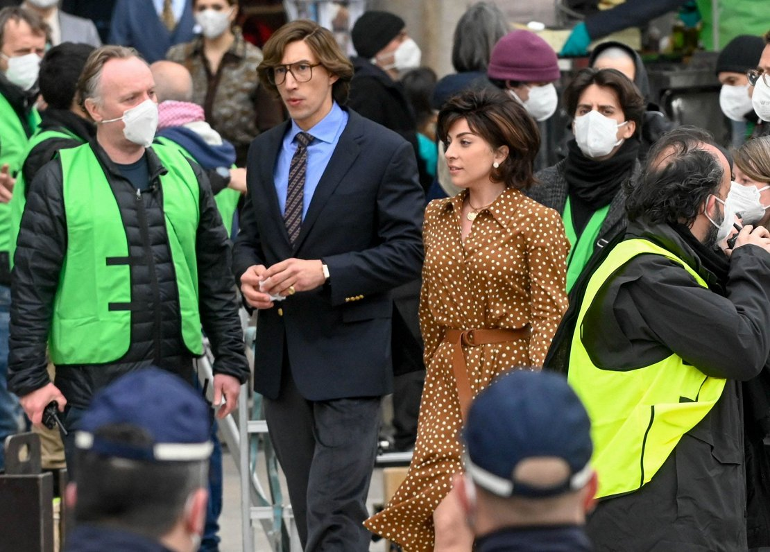 """Lady Gaga is filmed in Italy on """"House of Gucci"""" – Baltics News"""