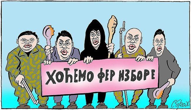 APEL IZ SUSJEDSTVA: Izborno pravo građana Srbije je ugroženo!