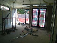 Windows & doors are in