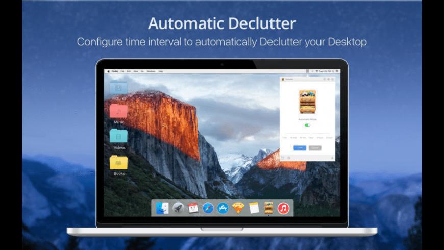 Declutter Mac 破解版 方便实用的桌面快速整理工具