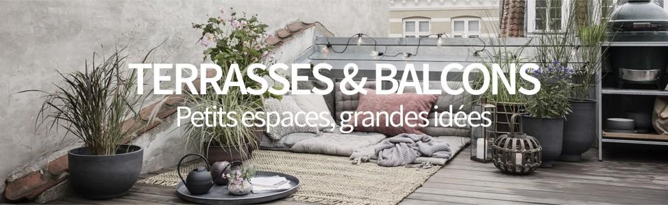 terrasses balcons petits espaces