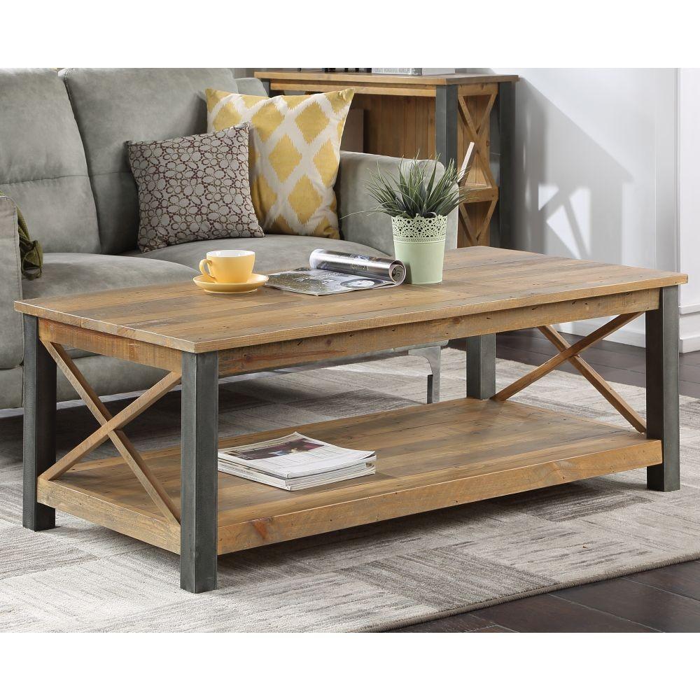 urban elegance reclaimed large coffee table