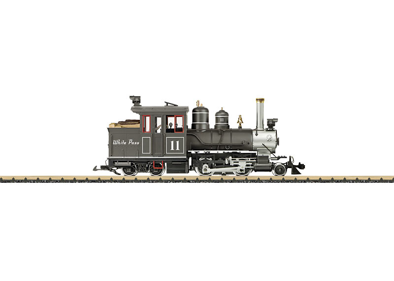 White Pass and Yukon Railroad Forney Steam Locomotive