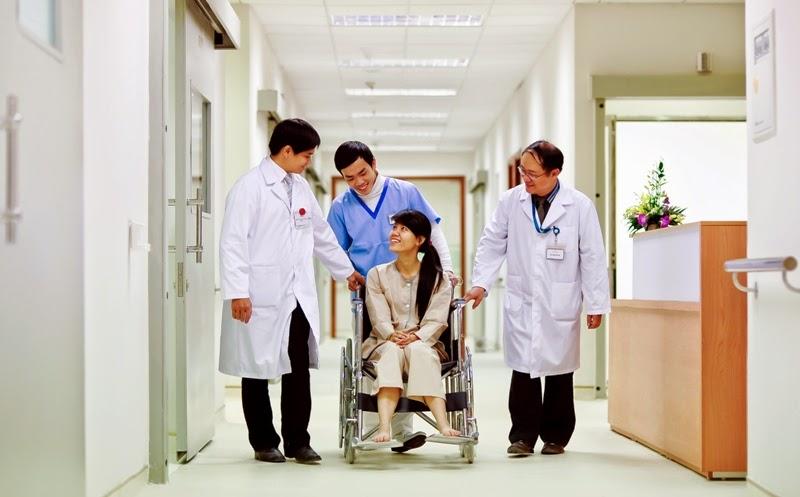 Thời gian khám chữa bệnh nhanh gọn và thuận tiện