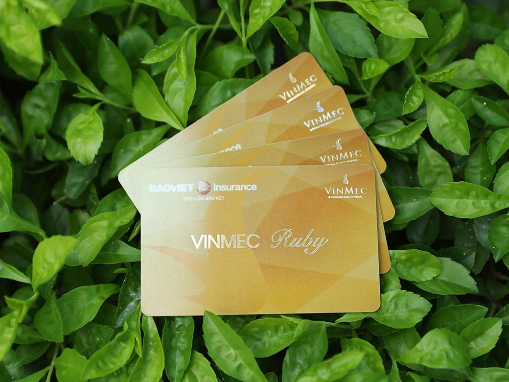 Thẻ bảo hiểm sức mạnh thời thượng với chất lượng y tế vượt trội từ Vinmec Ruby