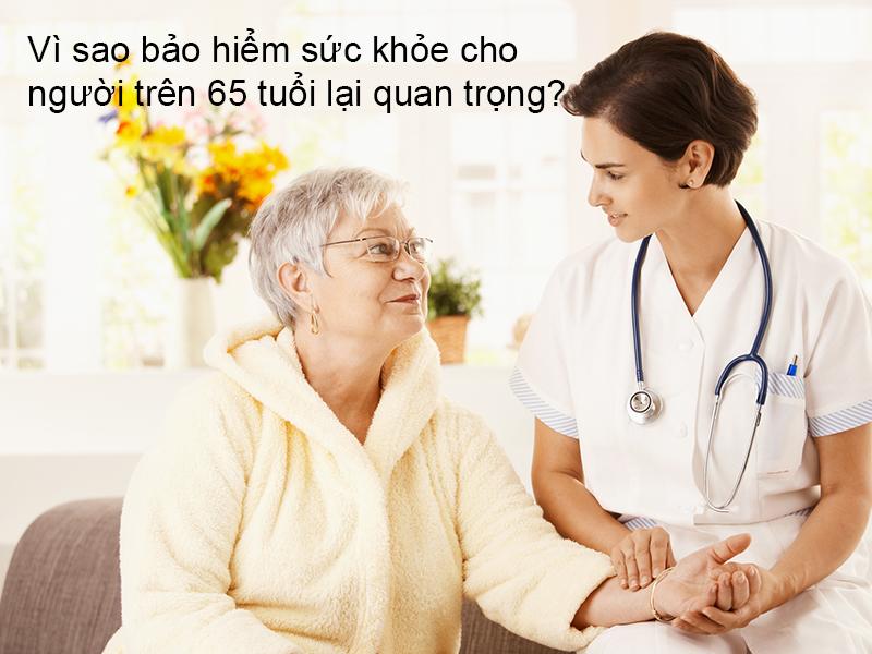 Nhiều quyền lợi lúc mua bảo hiểm cho những người dân cao tuổi