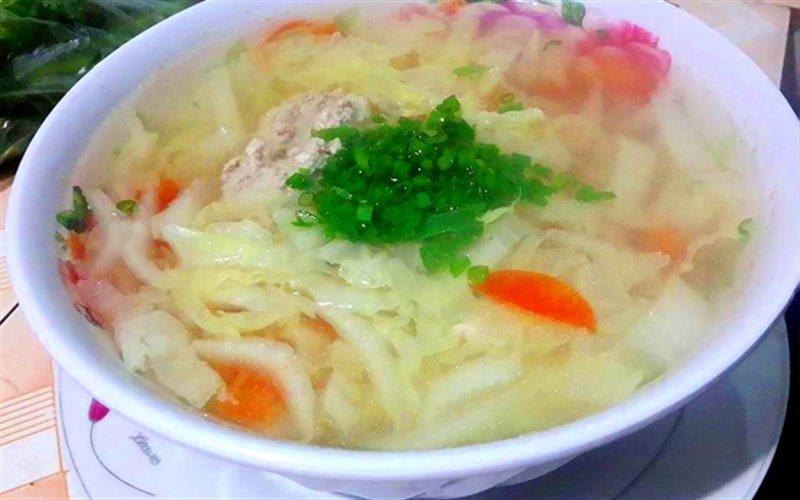 Món ăn thanh mát ngày hè canh cải thảo thịt bằm
