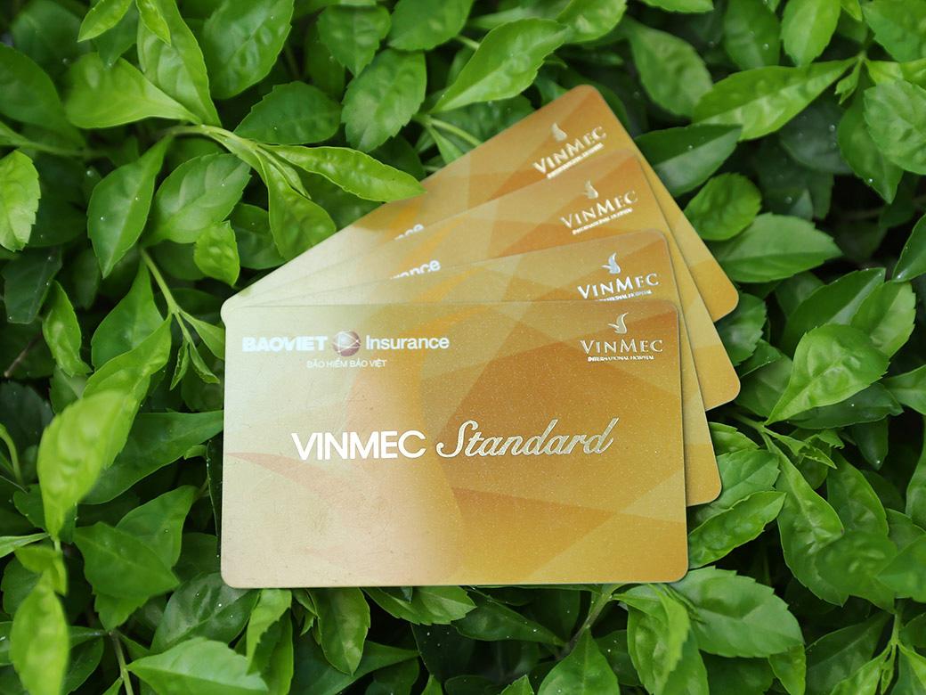 Thẻ bảo hiểm sức mạnh Vinmec Standard