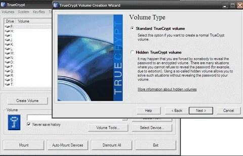 truecrypt-hiding folders