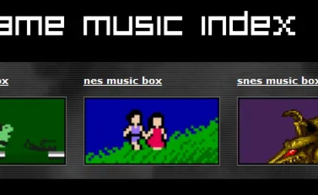 5 Sites To Download Free Video Game Music