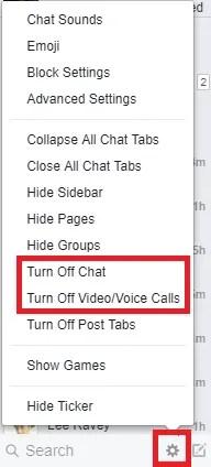 andare offline su chat di Facebook