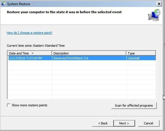 حل مشكلة الشاشة الزرقاء في ويندوز الحل الشامل في خطوات سهله