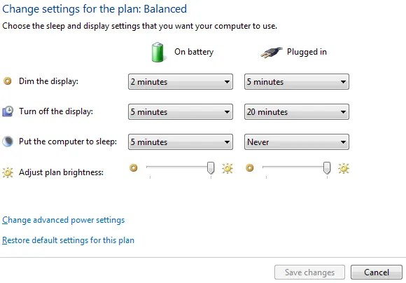 Windows 7 Power Options and Sleep Modes Explained