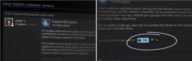 steam introduces user reviews
