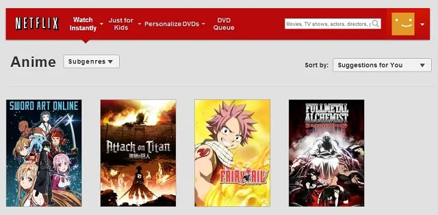 Image of: Gogoanime Netflixweb Finding Anime On The Website Makeuseof Legal Anime Exists Websites Where You Can Watch Anime For Free