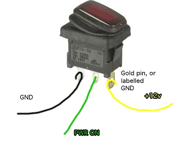 lighted rocker switch wiring diagram crabtree intermediate how to make a bench power supply from an old atx psu