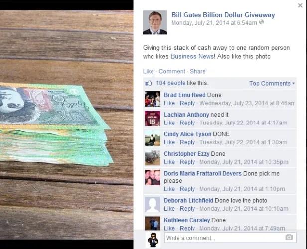 Билл Гейтс поддельные поддавки