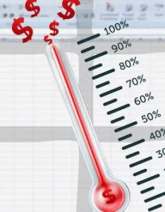 Also How To Create Your Custom Excel Fundraising Thermometer Template Rh Makeuseof