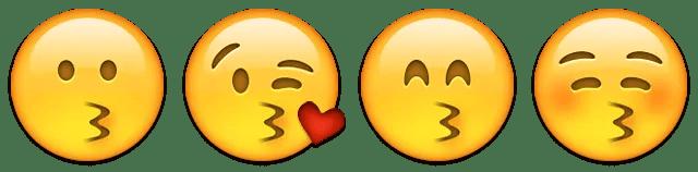 kissing love romance emoji emoticon