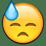 hard work sweating emoji emoticon
