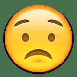 worried concerned emoji emoticon