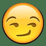 smirking emoji emoticon