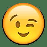 winking cheeky emoji emoticon