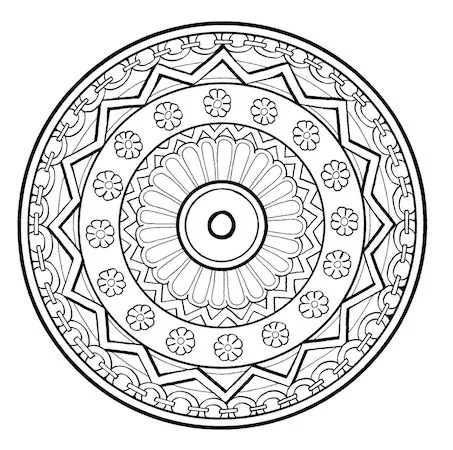 Relieve Daily Stresses with Beautiful Free Mandala