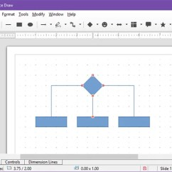 Visio Application Diagram How To Make A Cell Free Open Source Alternative Microsoft Draw Example