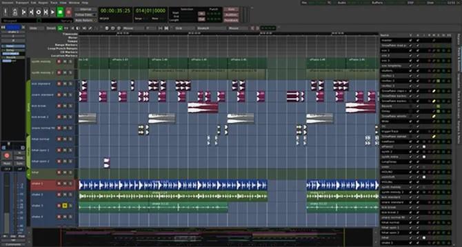 аудио-редактор запал