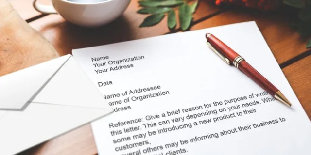 15 Business Letter Templates For