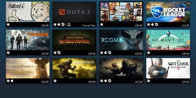 steam names the best