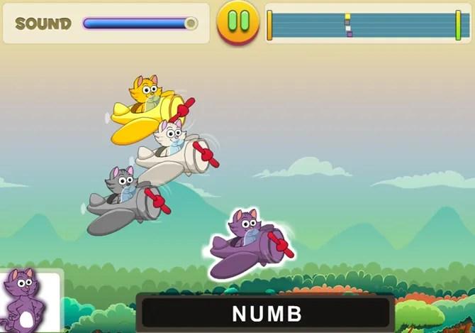 KidzType GliderCat web - 10 Sites and Games to Teach Kids Typing the Fun Way
