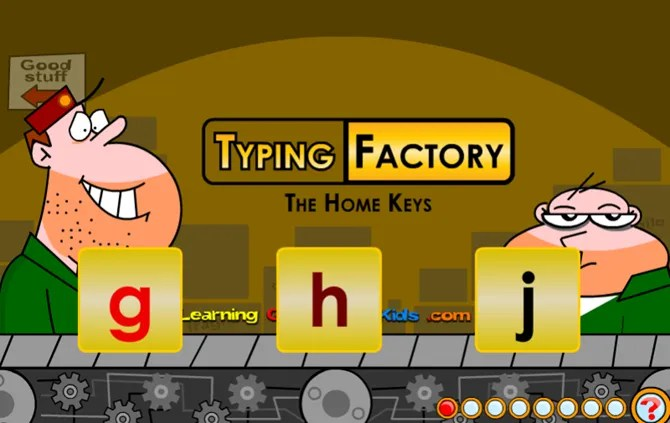 LearningGamesKids TypingFactory web - 10 Sites and Games to Teach Kids Typing the Fun Way