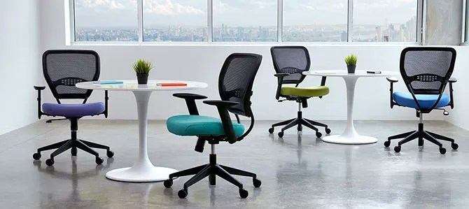 office chair posture buy wingback covers gray the 5 best chairs for back pain and better space seating airgrid
