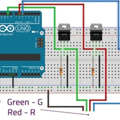 Led Christmas Light String Wiring Diagram Mga Ultimate Guide To Connecting Strips Arduino Mosfet Circuit
