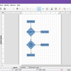 Best Tool To Draw Diagrams Gm 350 Carburetor Diagram The 7 Free Flowchart Software For Windows Libreoffice