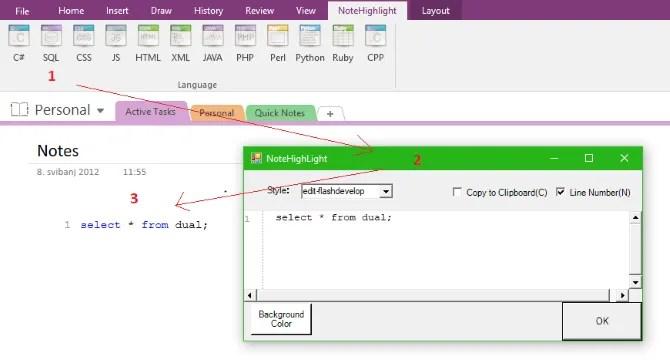 programming notes app onenote