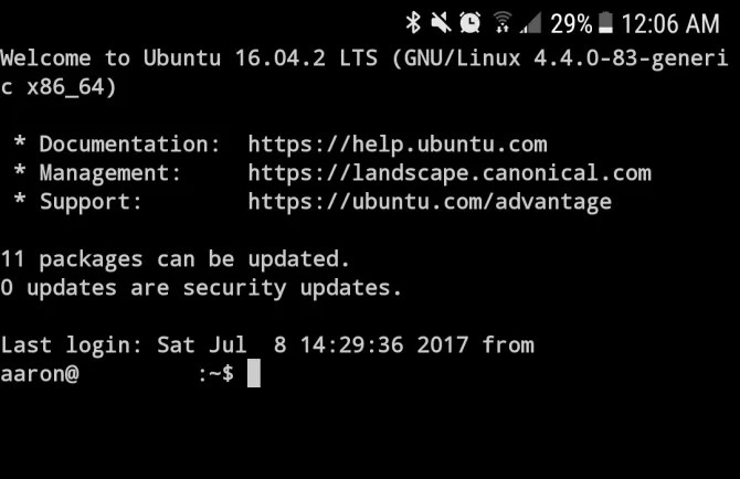 termux android ssh