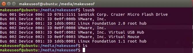 Usa il comando lsusb in Linux