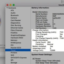 0 Amperage Macbook Battery Purpose Venn Diagram 6 Signs It S Time To Upgrade Or Replace Your Mac Cycles