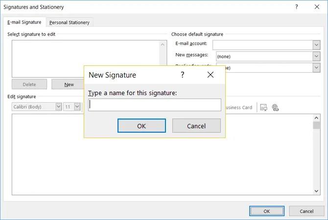 как сделать так, чтобы ваша электронная подпись outlook выделялась