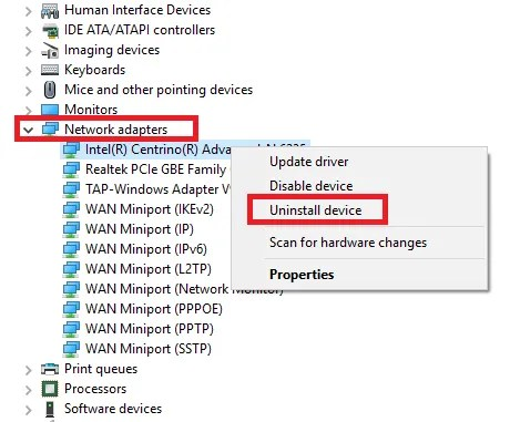 проблемы с Wi-Fi в Windows 10