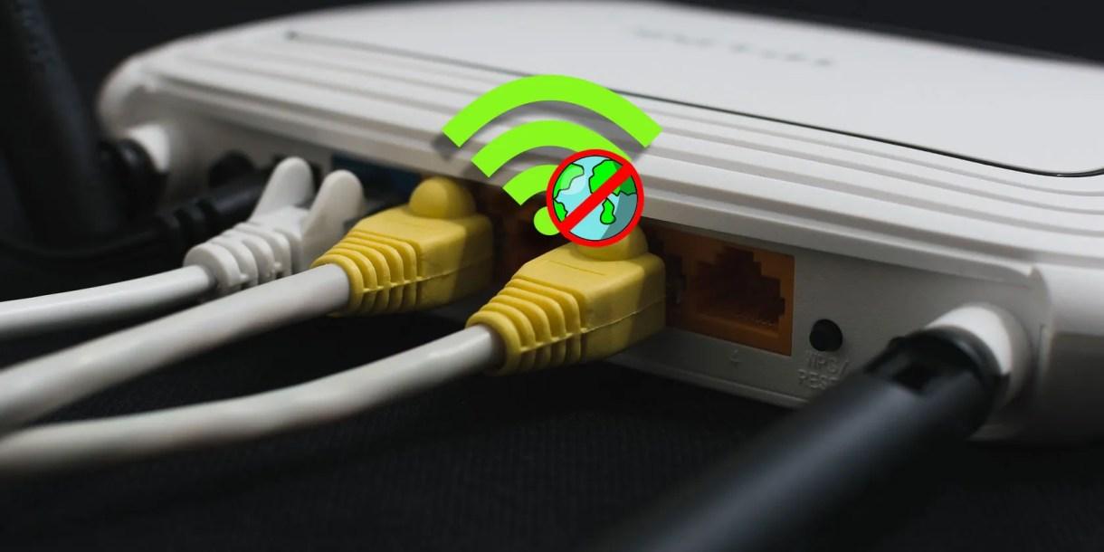 router-no-internet